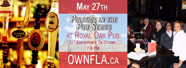 <!--:en-->Politics in the Pub <!--:--> @ Royal Oak Pub | Ottawa | Ontario | Canada
