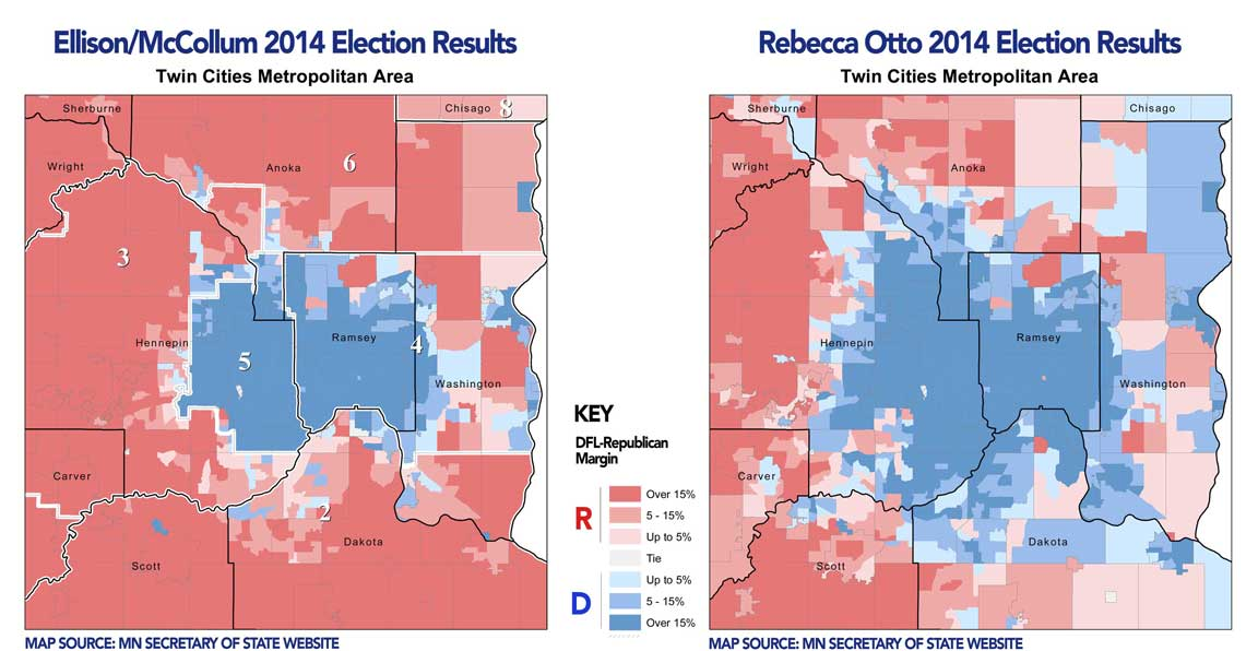 Rebecca Otto outperforms in the Metro too